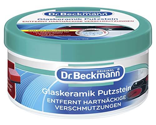 Dr. Beckmann Glaskeramik Putzstein | effektiver Kochfeld-Reiniger |...