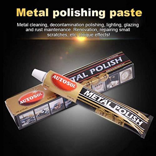 HAZUN Autosol Metallpolitur für Chrom Kupfer Messing - Chrome Polish...