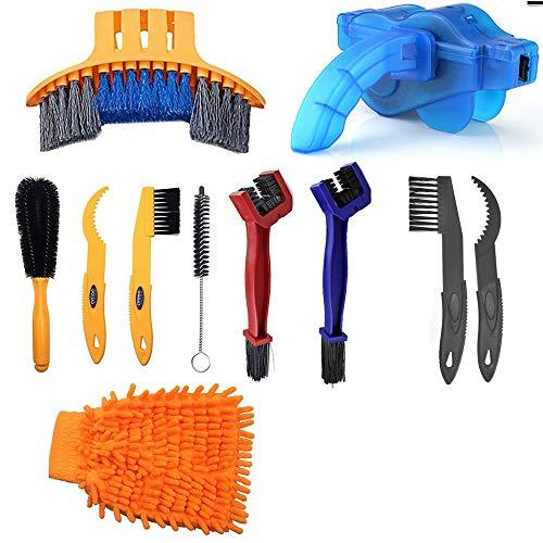 Paor Fahrrad-Reinigungsbürste, Werkzeug für Fahrradketten, Reifen,...