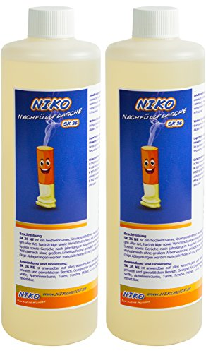 2x Niko Nikotin Nikotinentferner 500ml - NACHFÜLL-Flasche -...