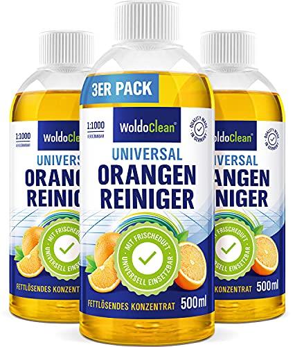 Orangenreiniger Konzentrat fettlösend und hochkonzentriert - 3x 500ml