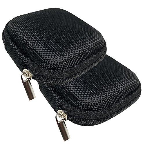 JBSTK 2 Stücke Universal Tasche für In-Ear Kopfhörer mit Netzfach -...
