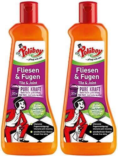 Poliboy - Fliesen- und Fugen - für die kraftvolle Reinigung aller...