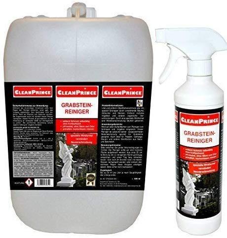CleanPrince Grabsteinreiniger Grabstein-Reiniger 2.500 ml 2,5 Liter...