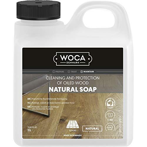 WOCA 511050A Holzbodenseife, natürlich, 5 Liter Volumen