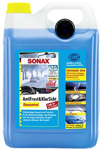 SONAX AntiFrost&KlarSicht Konzentrat (5 Liter) ergibt bis zu 15 Liter...