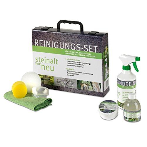 Global Brand Concepts GmbH Reinigungs-Set I Steinreiniger für...