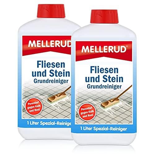 2x Mellerud Fliesen und Stein Grundreiniger 1L