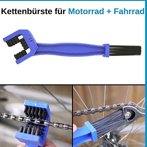 Reinigungsbürste, Fahrrad-Kette & Motorrad-Kette reinigen,...