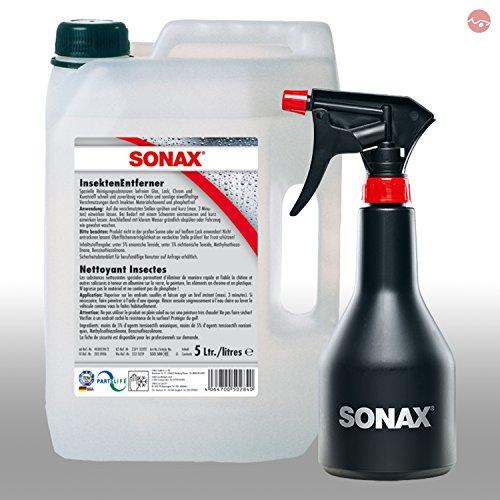 SONAX InsektenEntferner 5L 05335000 + GRATIS Sprühboy Sprühflasche...