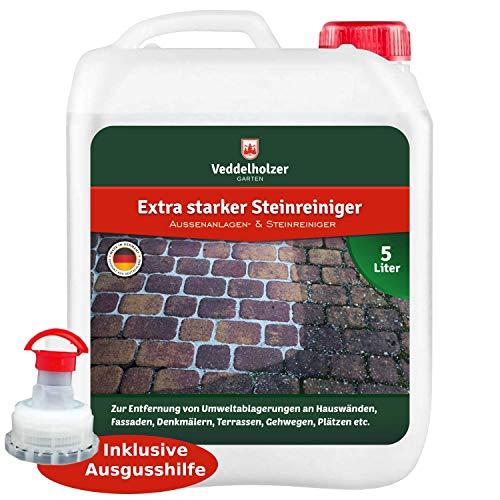 Veddelholzer Außenanlagenreiniger Steinreiniger 5 Liter Konzentrat...