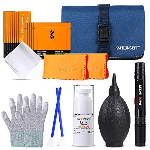 K&F Concept 8-in-1 Reinigungsset Reinigungs Kit für DSLR Kamera...