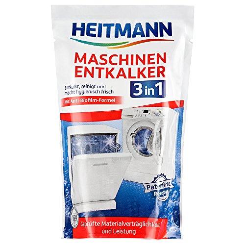 Heitmann Maschinen Entkalker für Waschmaschinen und Geschirrspüler:...