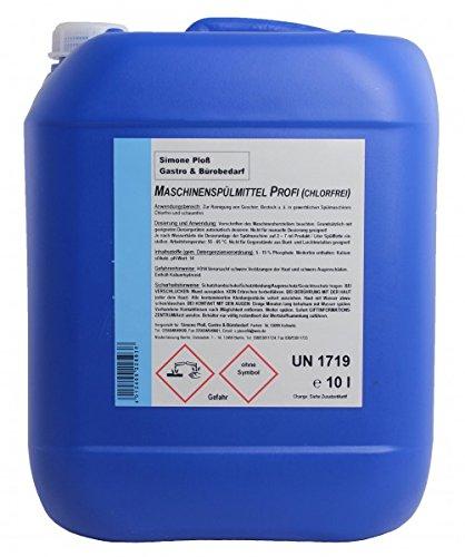 Maschinenspülmittel Profi 10L ohne Chlor für gewerbliche...