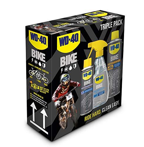 WD-40 Bike Fahrradpflegeset 1x Kettenspray Allwetter, 1x Reiniger, 1x...