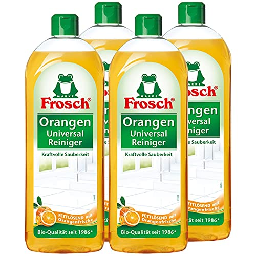 4x Frosch Orangen Universal Reiniger 750 ml