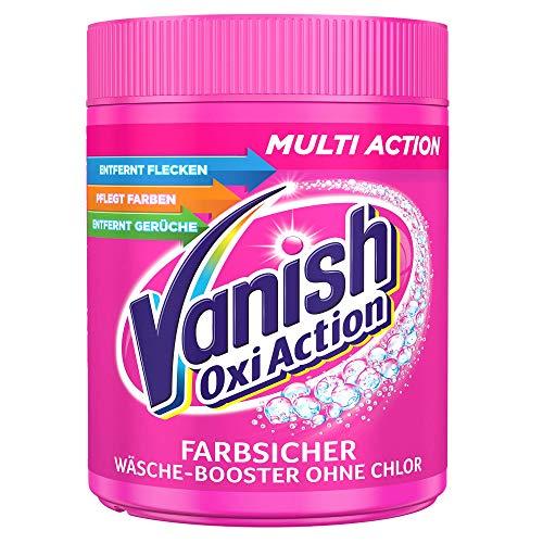 Vanish Oxi Action Pulver Pink – Fleckentferner Pulver ohne Chlor –...