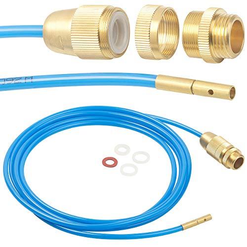 AGT Rohrreiniger: Hochdruck-Abflussreiniger für M22, M24 & 1/2', mit...