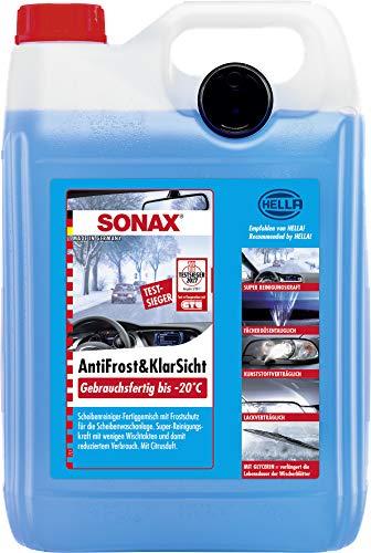 SONAX AntiFrost&KlarSicht Gebrauchsfertig bis -20° C (5 Liter)...