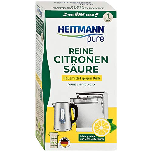 HEITMANN pure Reine Citronensäure: Ökologischer Bio-Entkalker -...