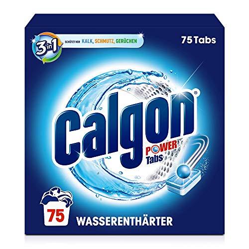 Calgon 3-in-1 Power Tabs – Wasserenthärter gegen Kalkablagerungen...