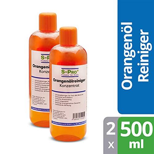 S-Pro® Orangenölreiniger Konzentrat Allzweckreiniger...