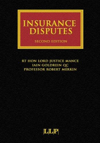 Insurance Disputes (Lloyd's Insurance Law Library)
