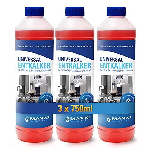 Maxxi Clean Power Universal Entkalker für Ihren Kaffeevollautomaten |...