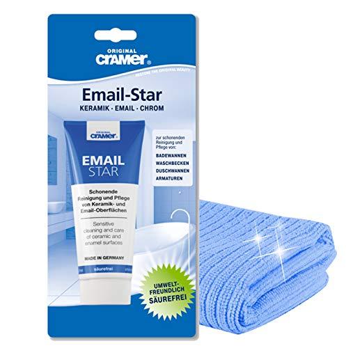 Cramer Email-Star | Reinigungspaste Polierpaste zur schonenden...