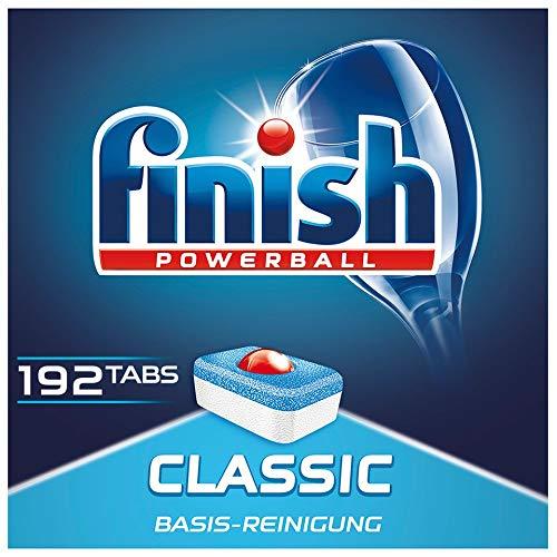 Finish Classic Spülmaschinentabs, phosphatfrei – Geschirrspültabs...