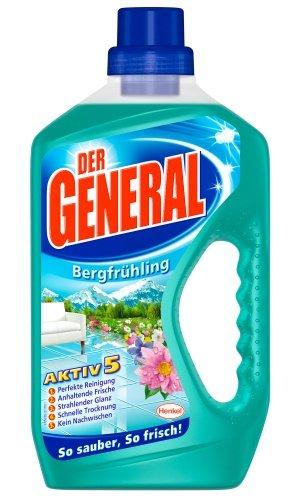 Der General Allzweckreiniger Bergfrühling (4 x 750 ml)