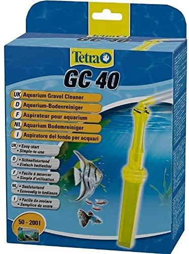 Tetra GC 40 Aquarien-Bodenreiniger mit Schlauch, Schnellstartventil...
