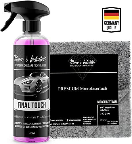 Momo's Industries® Final Touch Premium Lack Schnellversiegelung...