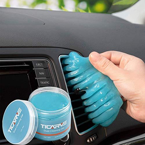 TICARVE Auto Reinigungsgel für den Innenraum, Weicher und Flexibler...