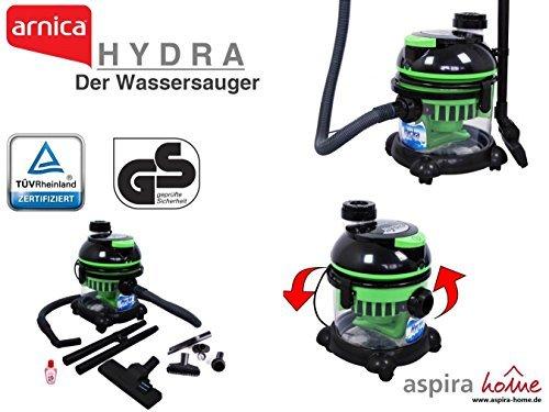arnica HYDRA - Naßsauger Wassersauger Staubsauger mit Wasserfilter...