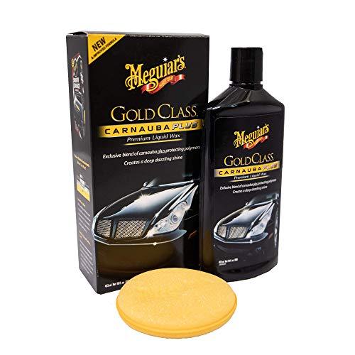 Meguiar's G7016EU Gold Class Carnauba Plus Premium Liquid Wax...
