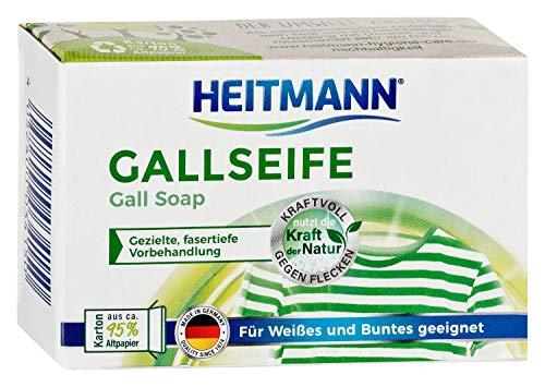 Heitmann Gallseife: Hausmittel gegen Flecken und Schmutz, natürlicher...