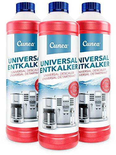 Cunea Entkalker für Kaffeemaschine & Kaffeevollautomat Wasserkocher...