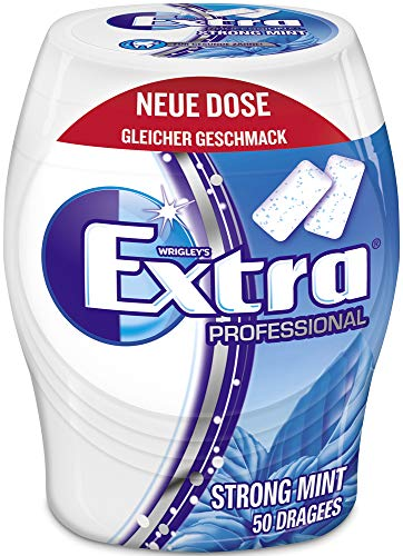 Extra Kaugummi | Professional Strong Mint | Zuckerfrei | Eine Dose (1...