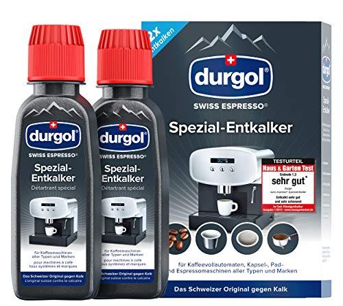 durgol swiss espresso Spezial-Entkalker – Kalkentferner für...