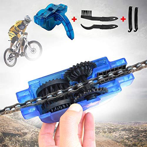 JTENG Fahrrad Kettenreinigungsgerät, Fahrrad Kettenreiniger Reinigung...