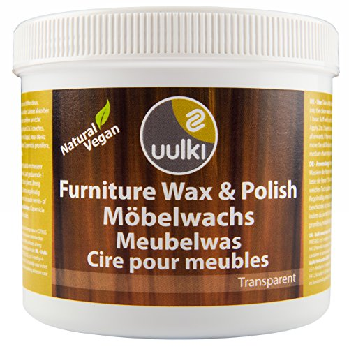 Uulki Möbelpolitur Möbelwachs Natürlich & Vegan (500 ml) -...