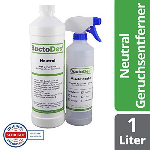 BactoDes Neutral Geruchsneutralisierer, Geruchsentferner,...