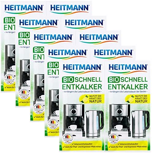 Heitmann BIO Schnell-Entkalker: Natürlicher Universalentkalker für...