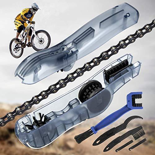 TOLIANCLE Fahrrad Kettenreinigungsgerät Kit Fahrradkettenreiniger...