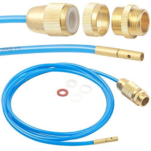 AGT Rohrreinigung: Hochdruck-Abflussreiniger für M22, M24 & 1/2', mit...