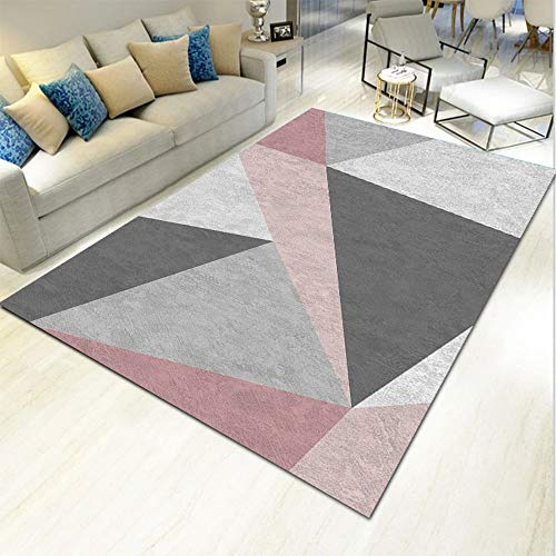SWNN Carpet Kontrast Farbe Schließen Haut Nordic Minimalist Teppich...